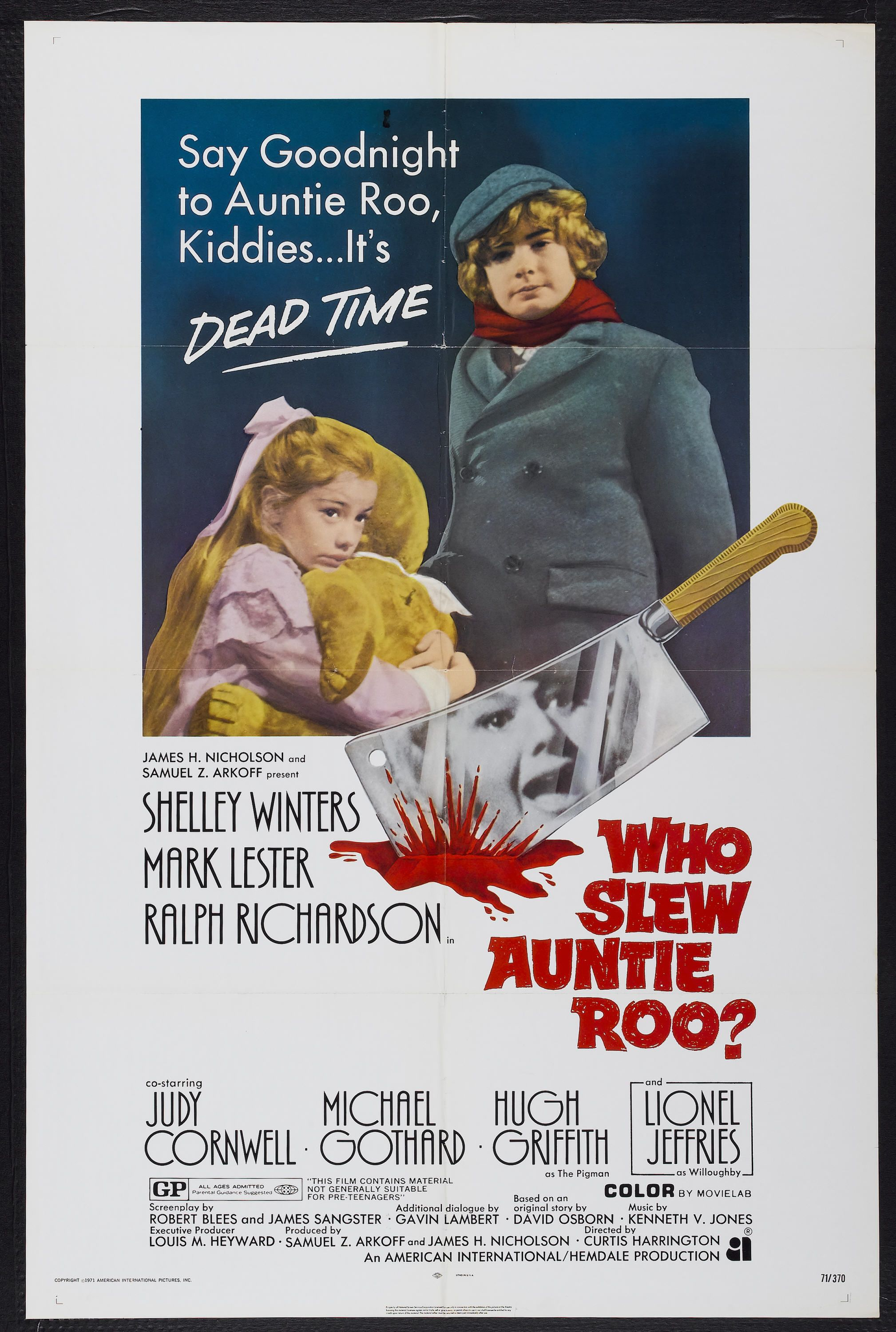 """Movie Poster for the Psychobiddy film """"Whoever Slew"""