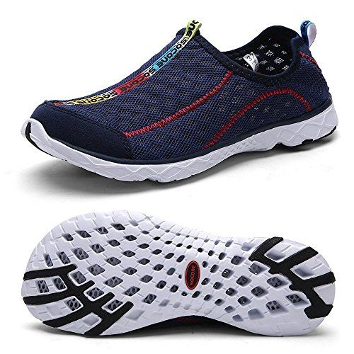 Women's Breathable Mesh Slip On Walking Casual Water Shoes