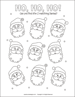 Christmas matching games for kids  free printable party games and