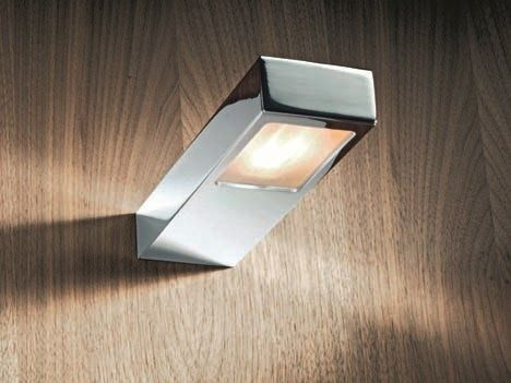 Direct light wall lamp flat 2 flat collection by decor walther