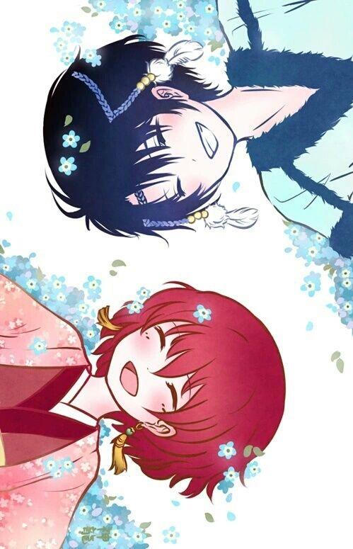 Imagem de akatsuki no yona, hak, and yona