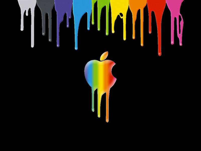 Rainbow Apple Wallpaper Bing images Apple wallpaper