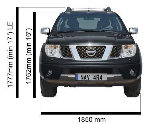 Dimensions for D40 double and king cab - Nissan-Navara net | Navara