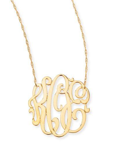 y27h1 zeuner 18k gold vermeil medium 3 letter monogram