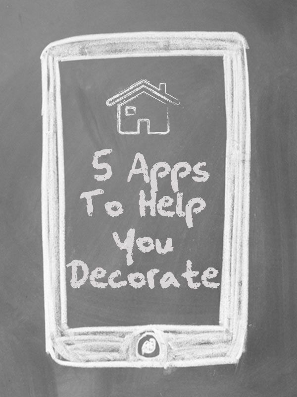 Design Help From Your Smartphone   5 DIY Apps   Pinterest     Home decorating iPhone   Andoird apps   YAY