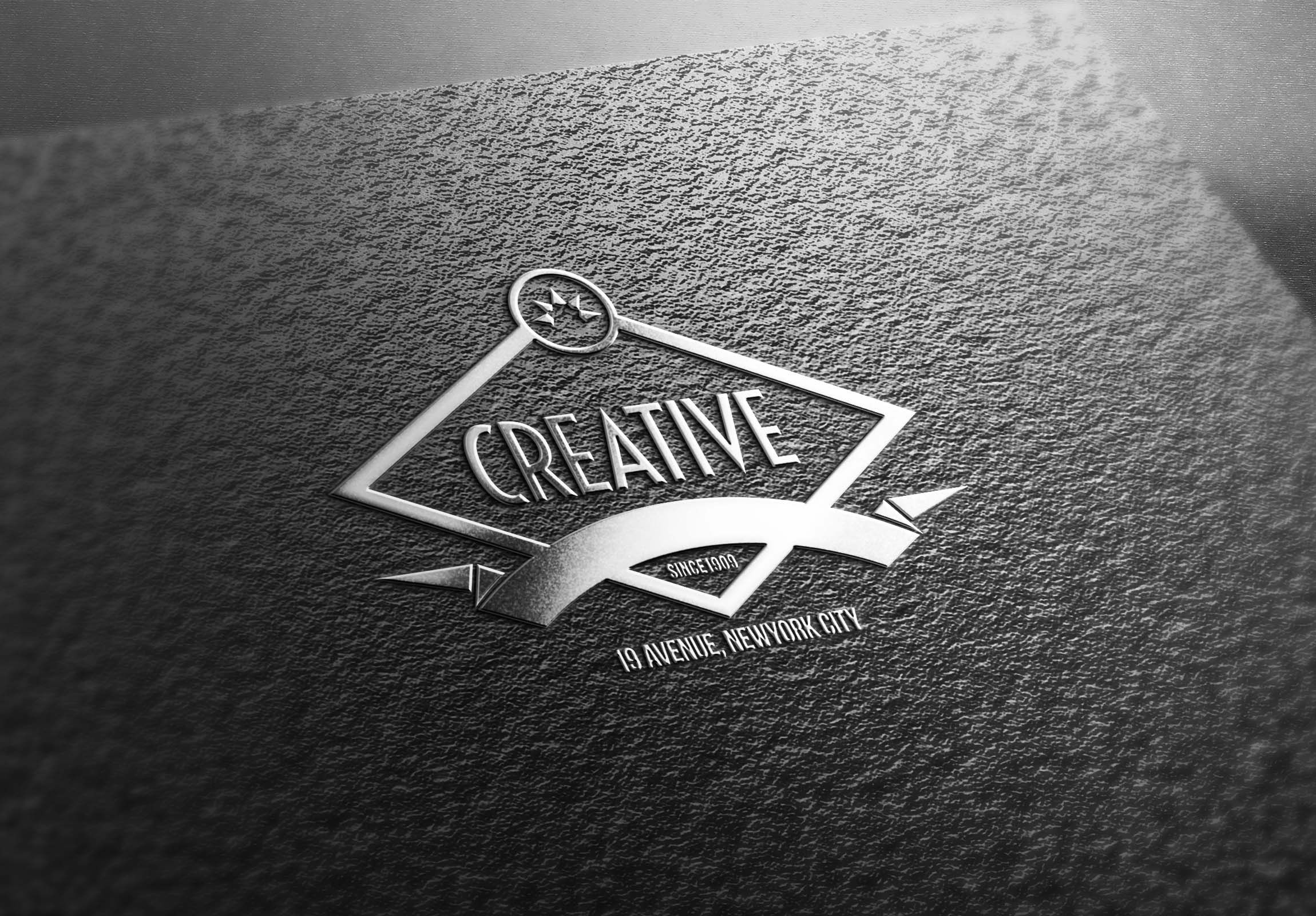 Now Showcase Your Logo Designs In A More Professional Way Using These Psd Silver Effect 3d Logo Mockup Template Logo Mockup Free Logo Mockup Logo Design Mockup