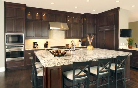 square kitchen island stonewall jam traditional with large decor