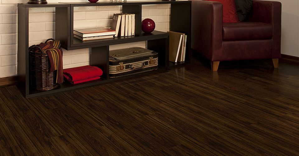 Iron Wood With Easy Gripstrip Installation Vinyl Plank Resilient Flooring Has Never Been This To Install And Looked Realistic