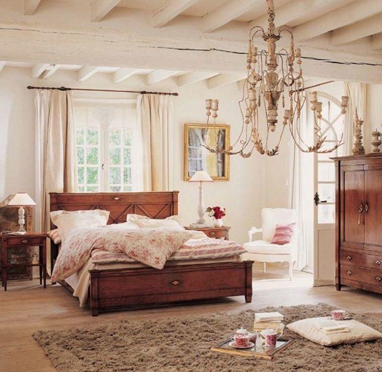 camere-da-letto-country-lampadario-ferro-battuto | INTERIOR DESIGN ...