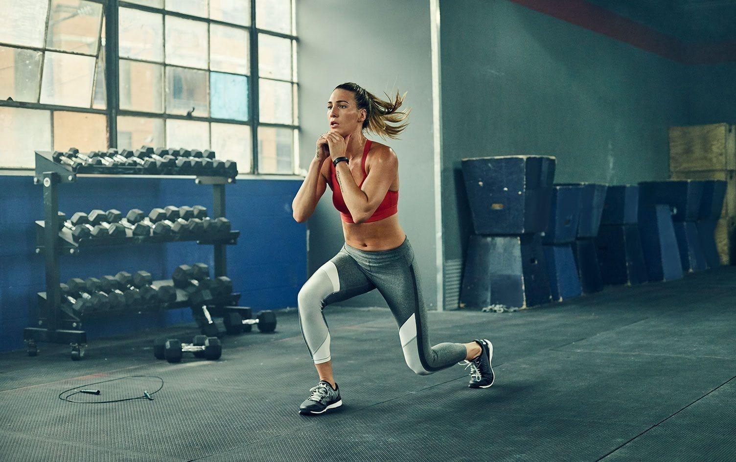 Master The Move The Lunge Fitness Myfitnesspal Strength Workout Plyometric Workout Kettlebell Training