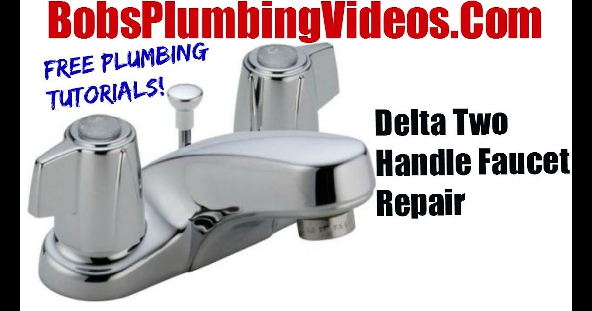 Delta Bathroom Faucet Cartridge Replacement Video Di 2020 Dengan