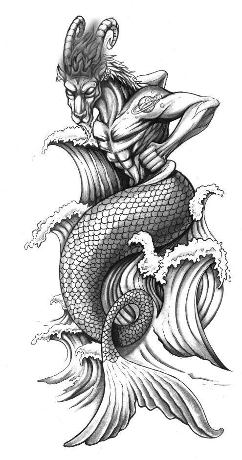 Capricornio Capricorn Tattoo Capricorn Art Tattoos For Guys