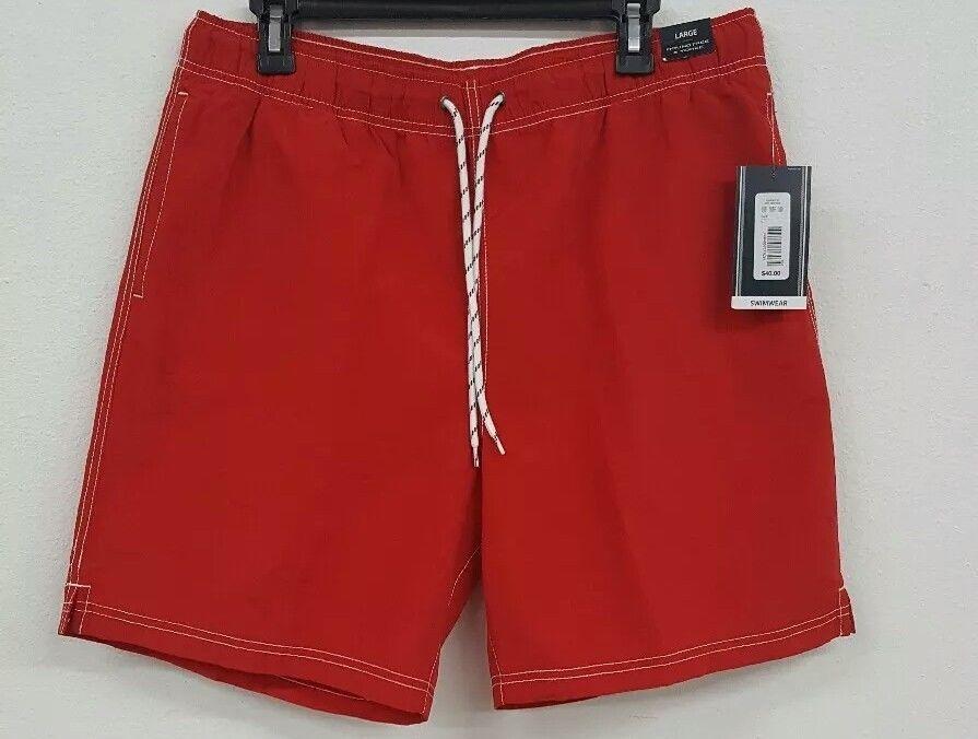 a9c4eae889 Roundtree & Yorke Red Drawstring Trunks Men's Swimwear NWT $40 Choose Size  #fashion #clothing #shoes #accessories #mensclothing #swimwear (ebay link)