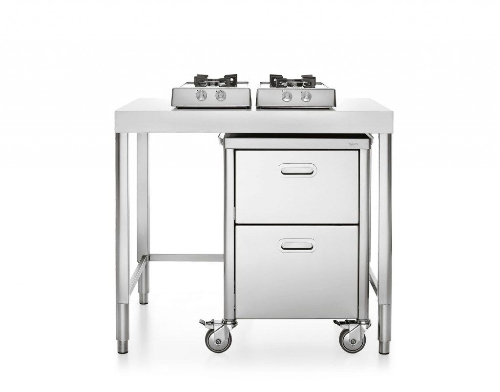 MINICUCINA 100 Liberi in cucina Collection by ALPES-INOX | Alpesinox ...