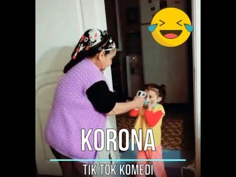 Tik Tok Videolari 1 Corona Korona Komik Videolar Izle Youtube Komik Komik Cocuklar Komik Gifler