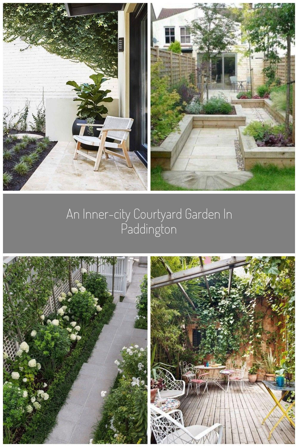 Fifth Season Landscapes smart use of space results in cohesive front and back entertaining zones in an innercity courtyard garden garden An innercity courtyard garden in...