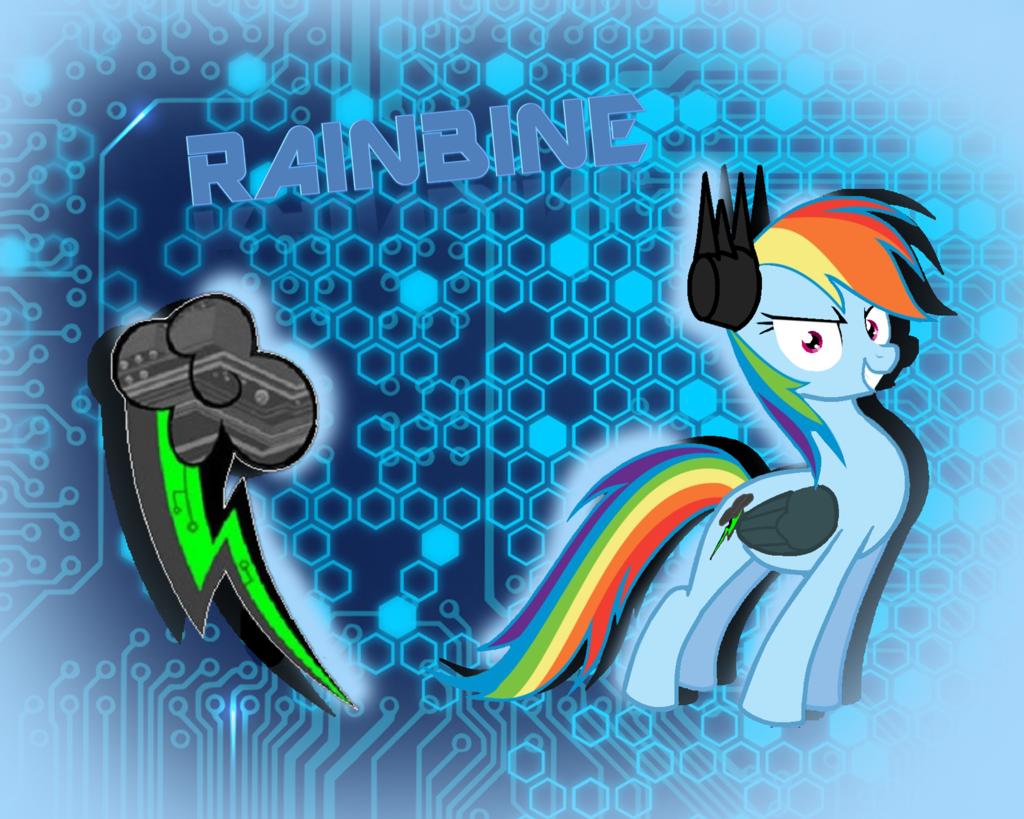 Rainbine By Bastetxcat On Deviantart My Little Pony Fanfiction Mlp Pony Rainbow Dash