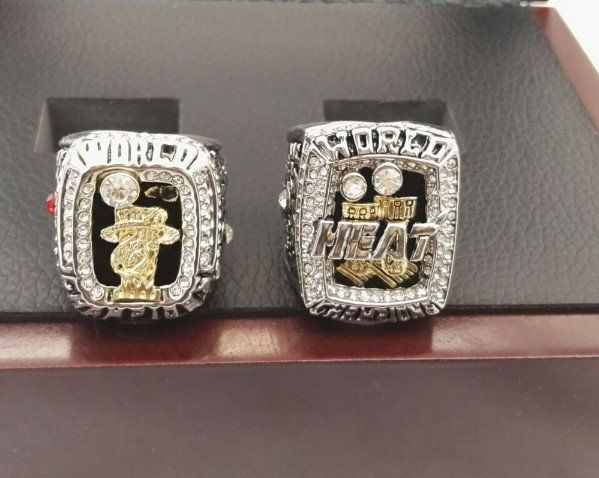 Miami Heat Lebron James Championship Replica Ring Set For 2012 2013 With