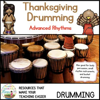 Thanksgiving Drumming for Learning, Fun, and Performance