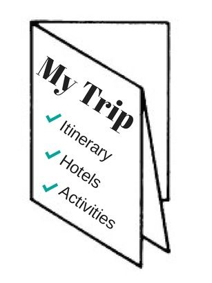 Travel Itinerary Template Keep Your Trip Organized With A Cheat