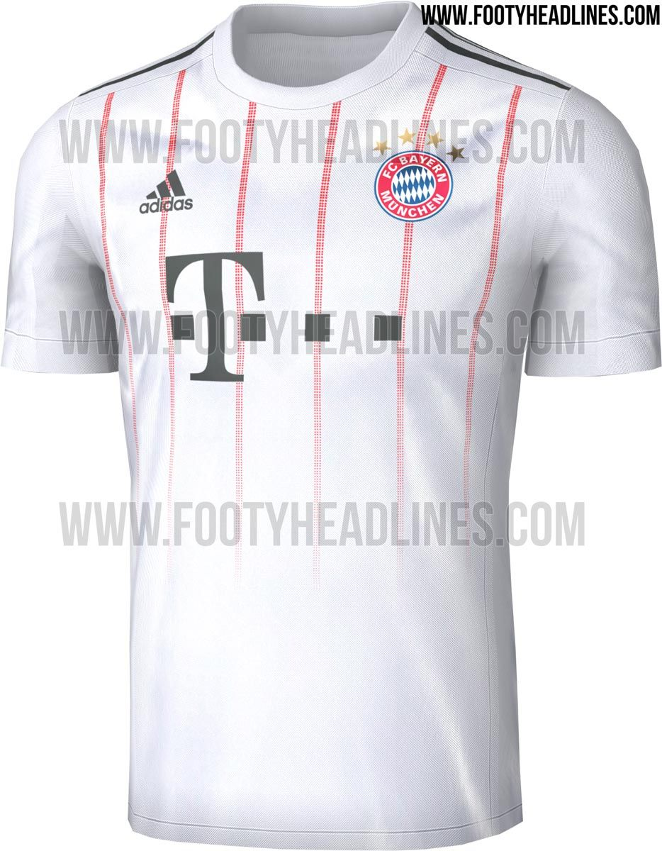 The Bayern Munich 17-18 third shirt introduces an interesting and unique  look in off-white efab33a0d