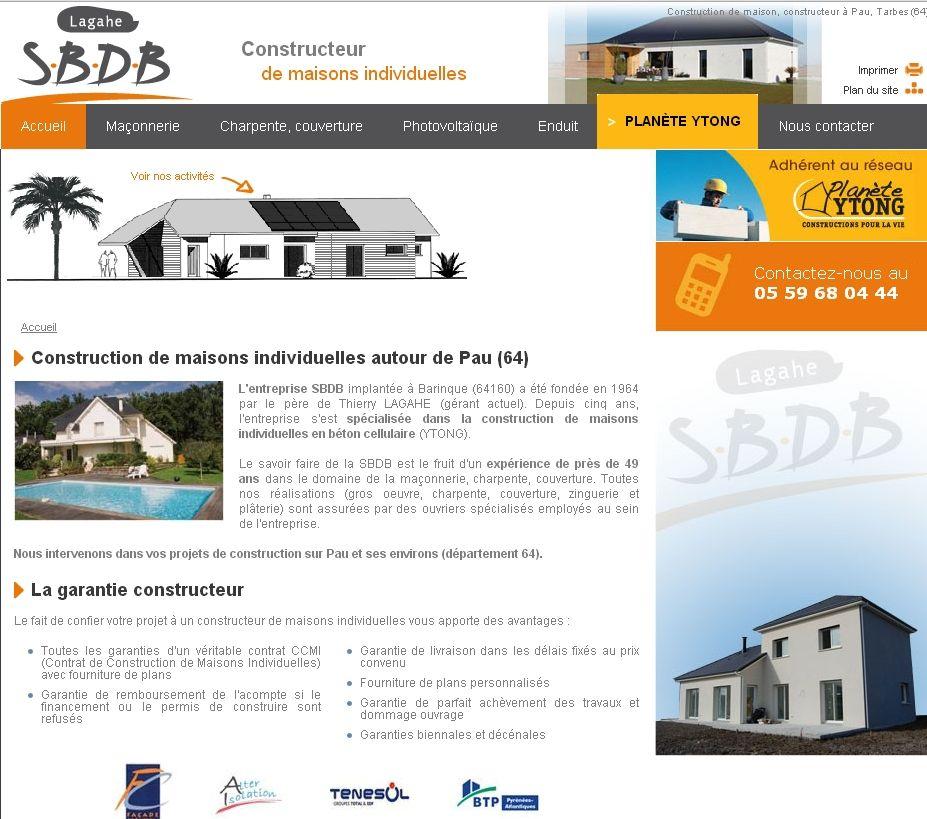 SBDB  construction de maisons et pose de panneaux solaires près de