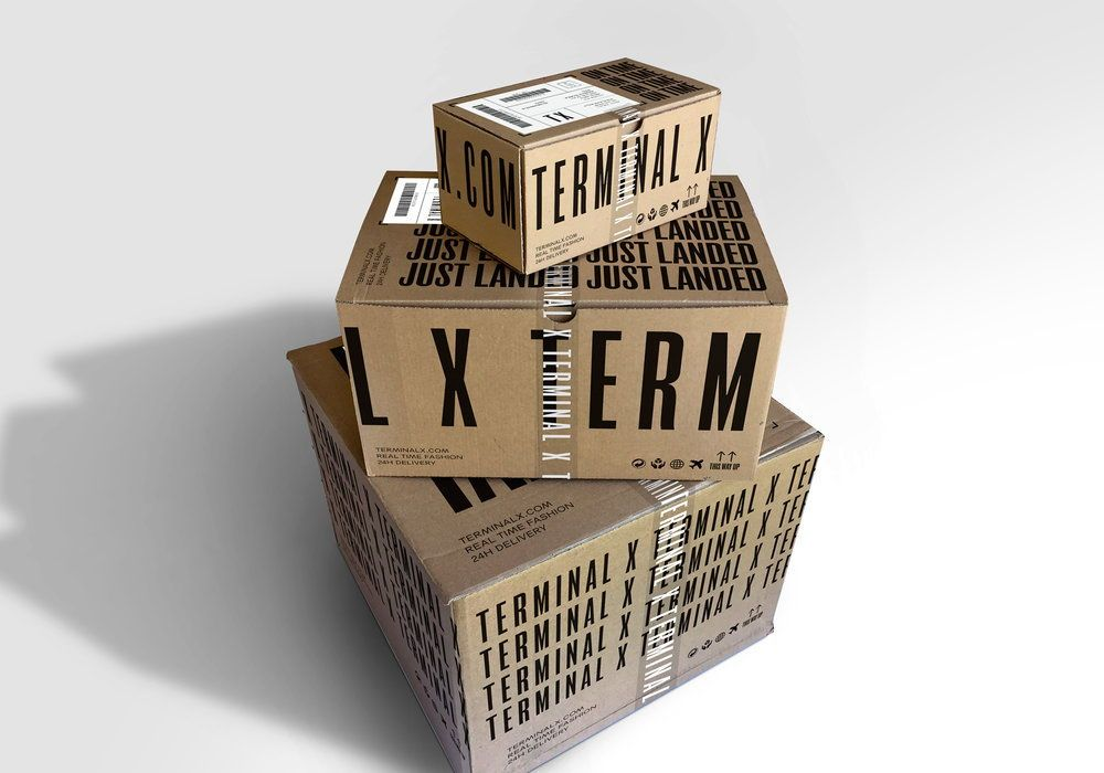 Terminal X Is A Hot Fashion Brand With Sleek Typography