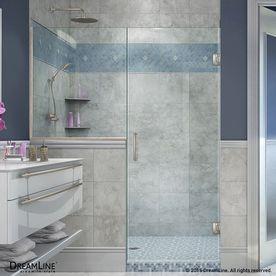 Dreamline Unidoor Plus 63 In To 63 5 In Frameless Hinged Shower