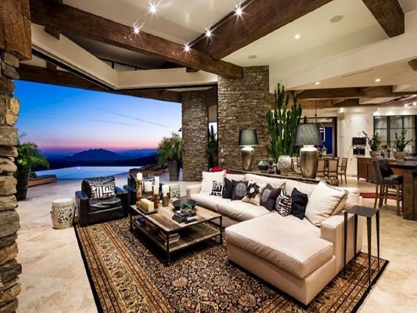 The ultimate mountain dwelling in the desert Deserts, Indoor