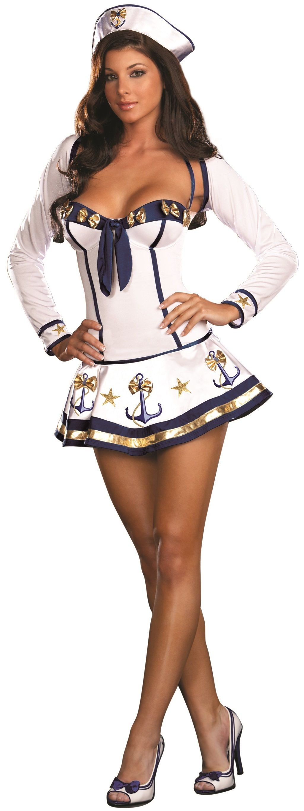Sexy Navy Sailor Costume | Sexy, Why not and The o'jays