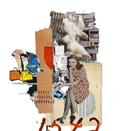 Patience is a virtue   #samheydt #collage #collageart...