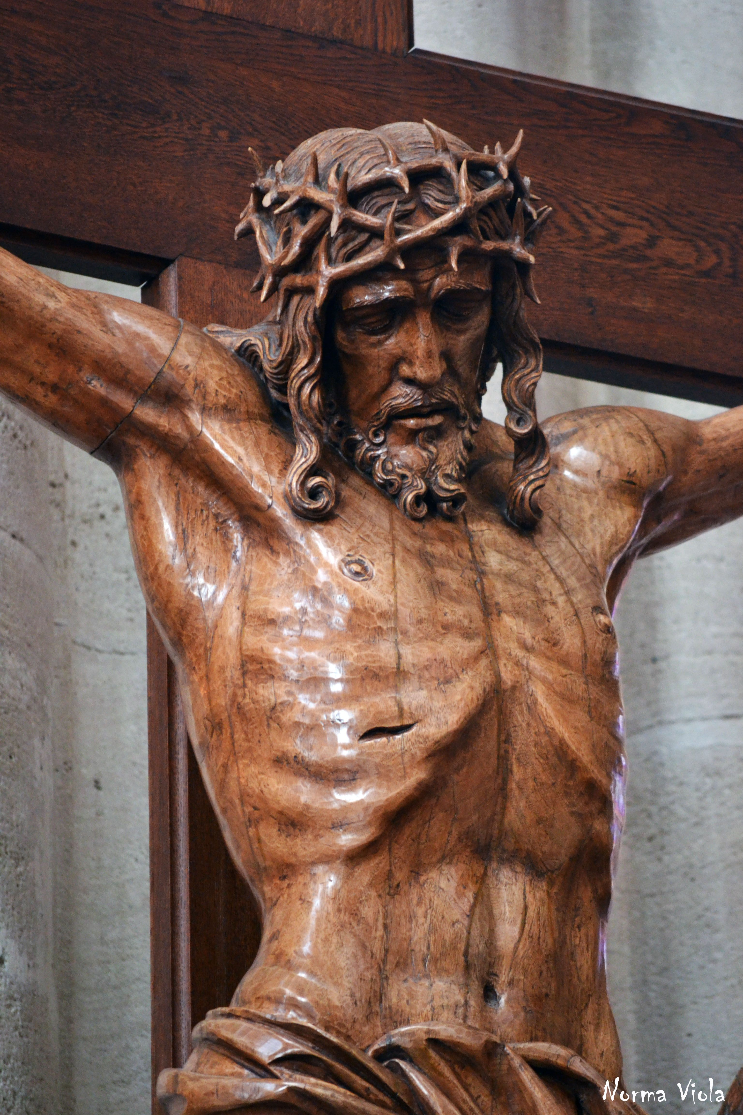 Crucifixion Of Christ Corridor 2 In 2019 Wooden