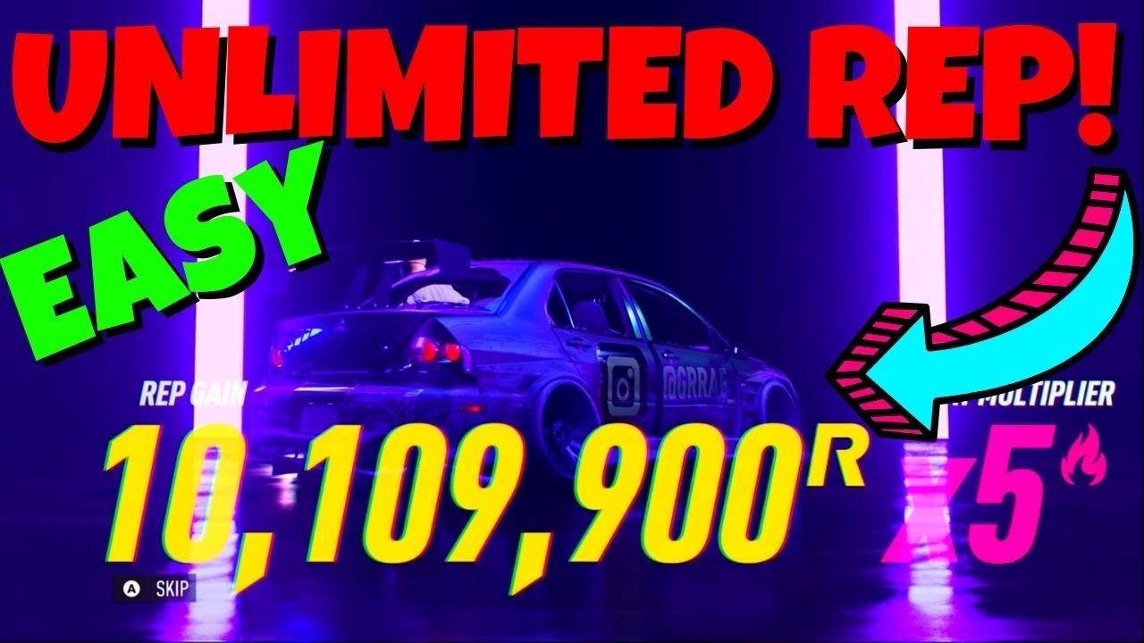 Anyone can get 10 million rep easy in nfs heat super easy