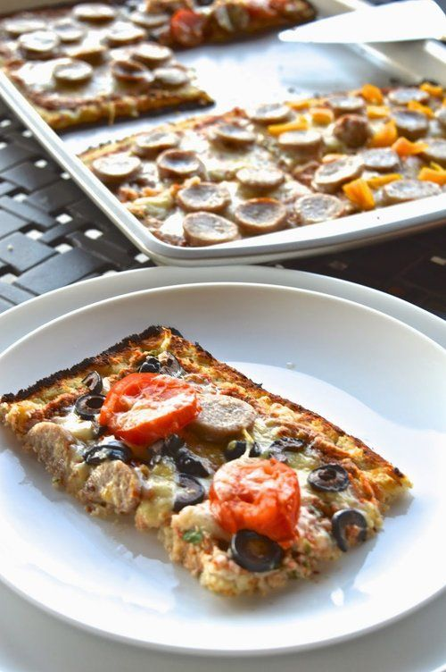 Egg Free Cauliflower Pizza Crust Egg Free Primal Scd Grain
