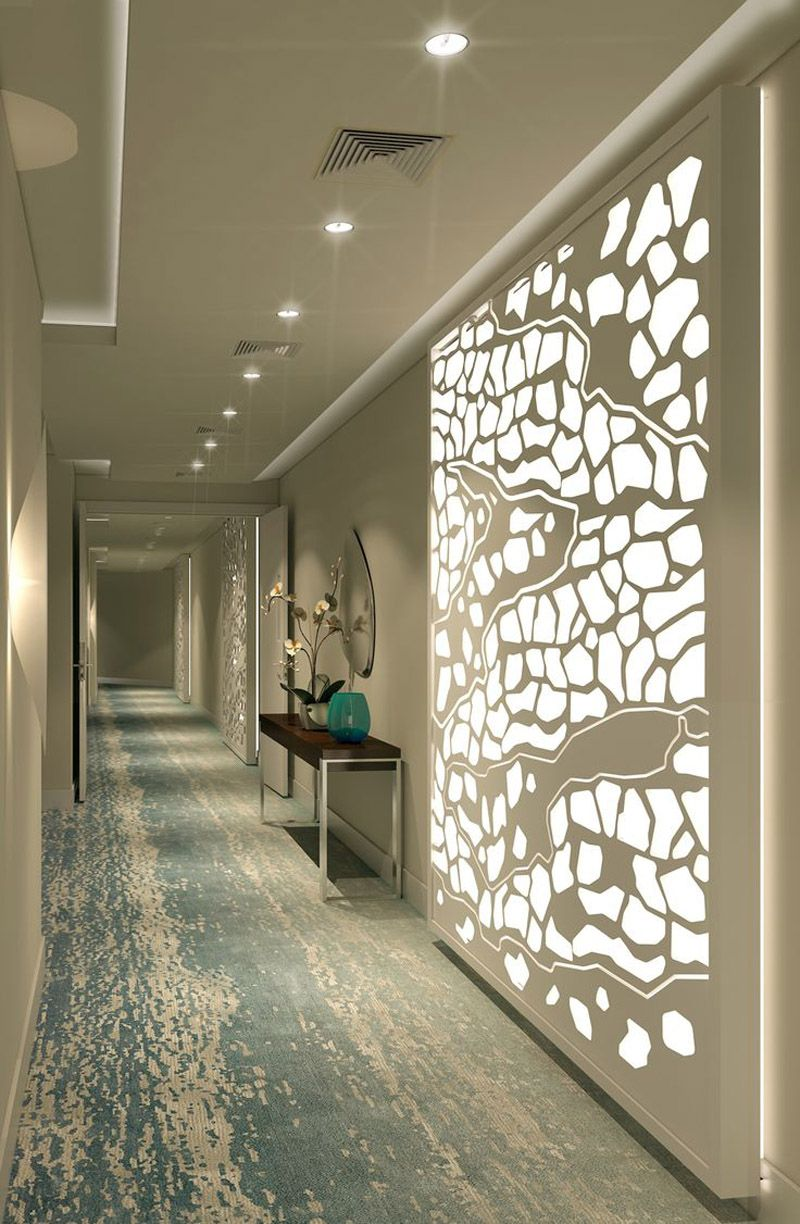 Creative partition ideas courtesy interior architect mohamed amer - 20 Long Corridor Design Ideas Perfect For Hotels And Public Spaces Designrulz Com
