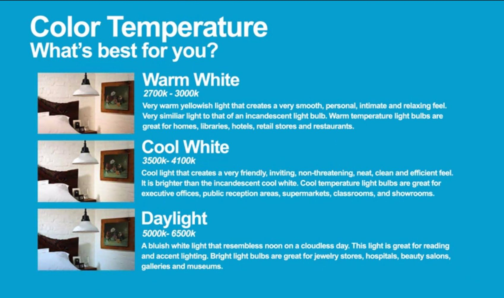 Kelvin Color Temperature In Light Bulbs Fluorescent Light Bulb Bulb Light Bulbs