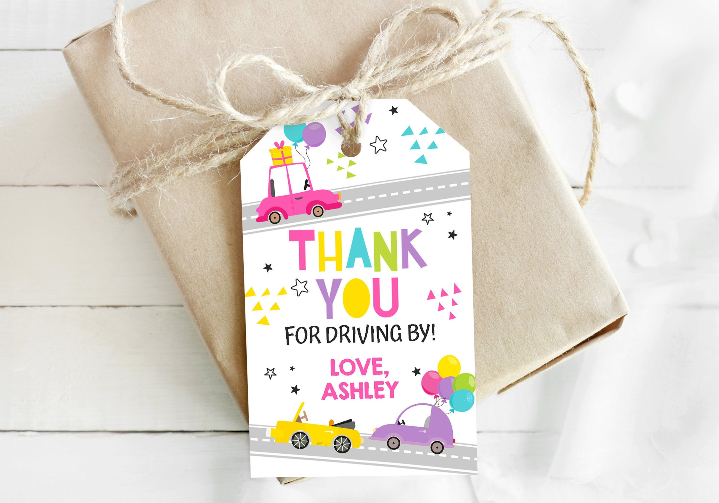 Party Favor Tags Thank You tags
