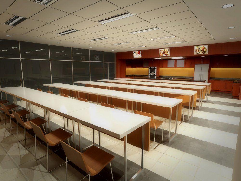 Classroom Design Essay : Culinary arts classroom culinary school architecture