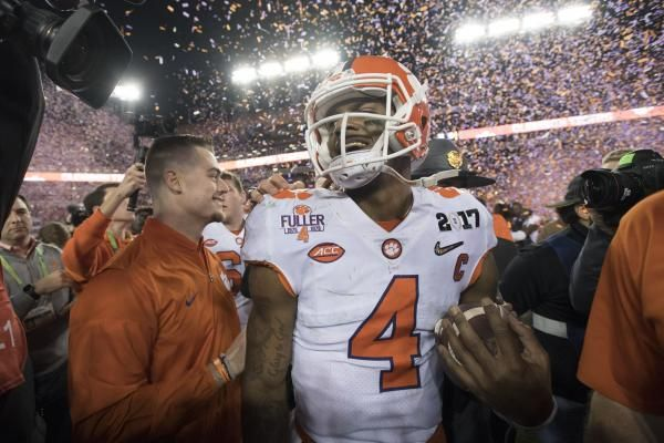 The Sports Xchange With a national championship trophy in tow, Clemson quarterback Deshaun Watson is ready to take his game to the next…