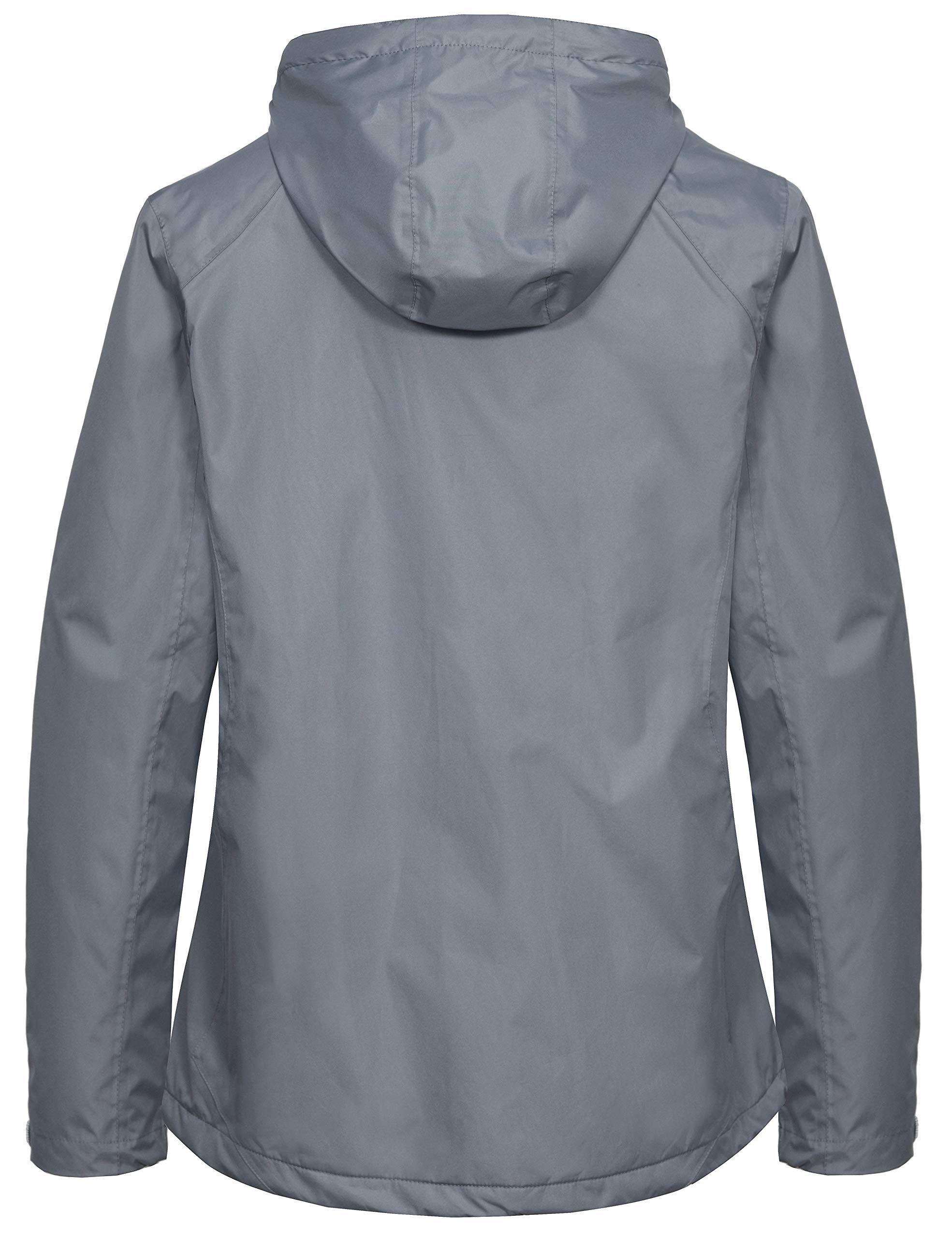 Little Donkey Andy Women S Hooded Anorak Pullover Raincoat Packable Rain Jacket With Fleece Lining Waterproof Packable Rain Jacket Anorak Classy Jumpsuit [ 2560 x 1969 Pixel ]