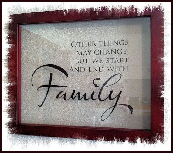 Floating Family Saying Picture Frame Gifts To Give Family Quotes