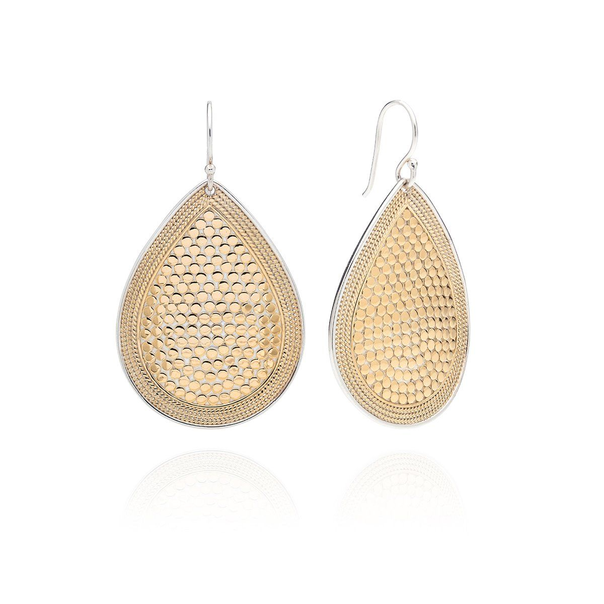 Teardrop Earrings Gold