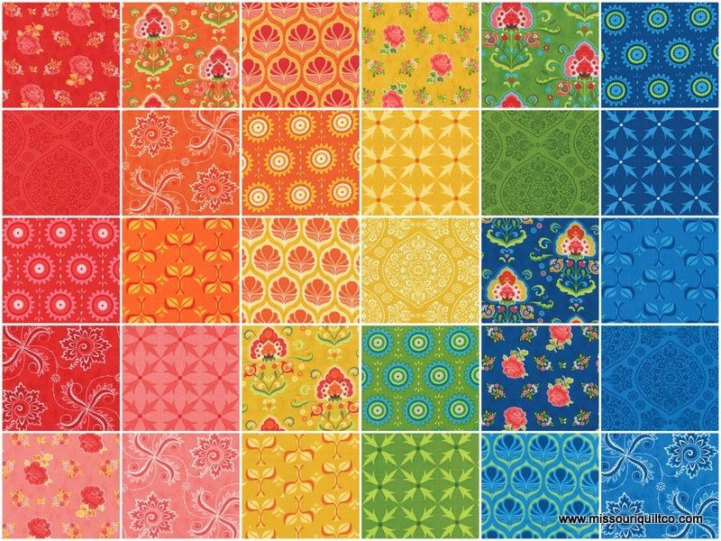 Fancy Jelly Roll Lily Ashbury Moda Fabrics Fabric