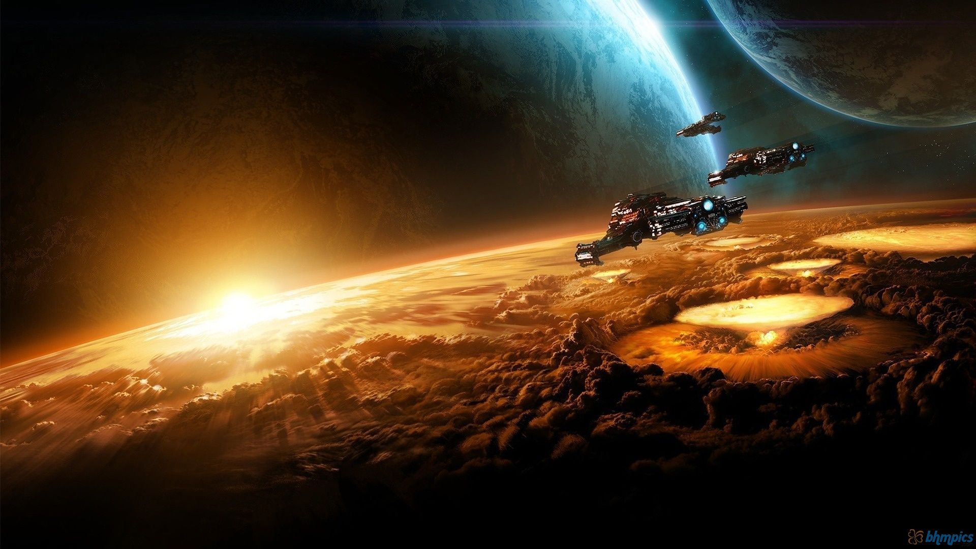 Spaceship Sci Fi Wallpaper Starcraft Wallpaper Backgrounds