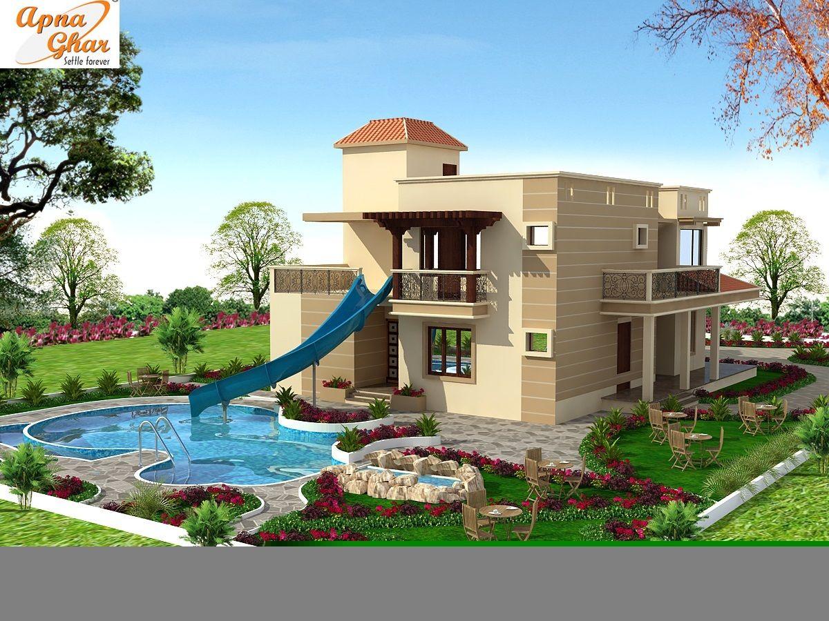Indian farmhouse design plans images for Indian farmhouse designs photos