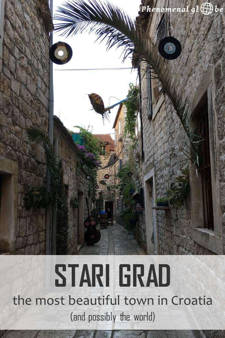 Stari Grad was founded 400 years BC, making it one of the oldest towns in Europe. It's a UNSECO Heritage sight & the most beautiful village I have ever seen! Cobbled streets, narrow alleys with tiny restaurants and old stone houses that look like they came straight out of a fairytale…
