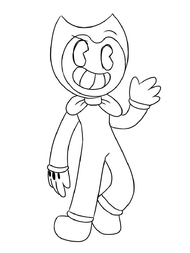 Bendy Coloring Pages For Good People Educative Printable Coloring Pages Coloring Sheets For Kids Good People