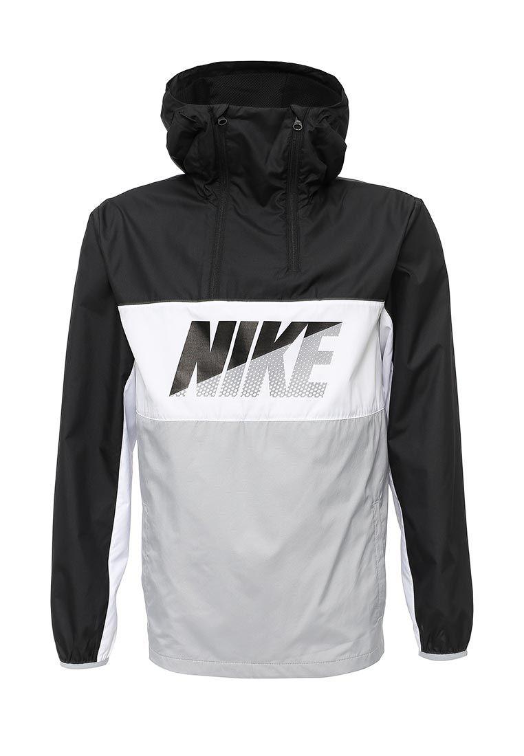 986c05668c80 Мужская ветровка Nike Half-Zip сочетает спортивный стиль и футуристические  детали. Модель выполнена