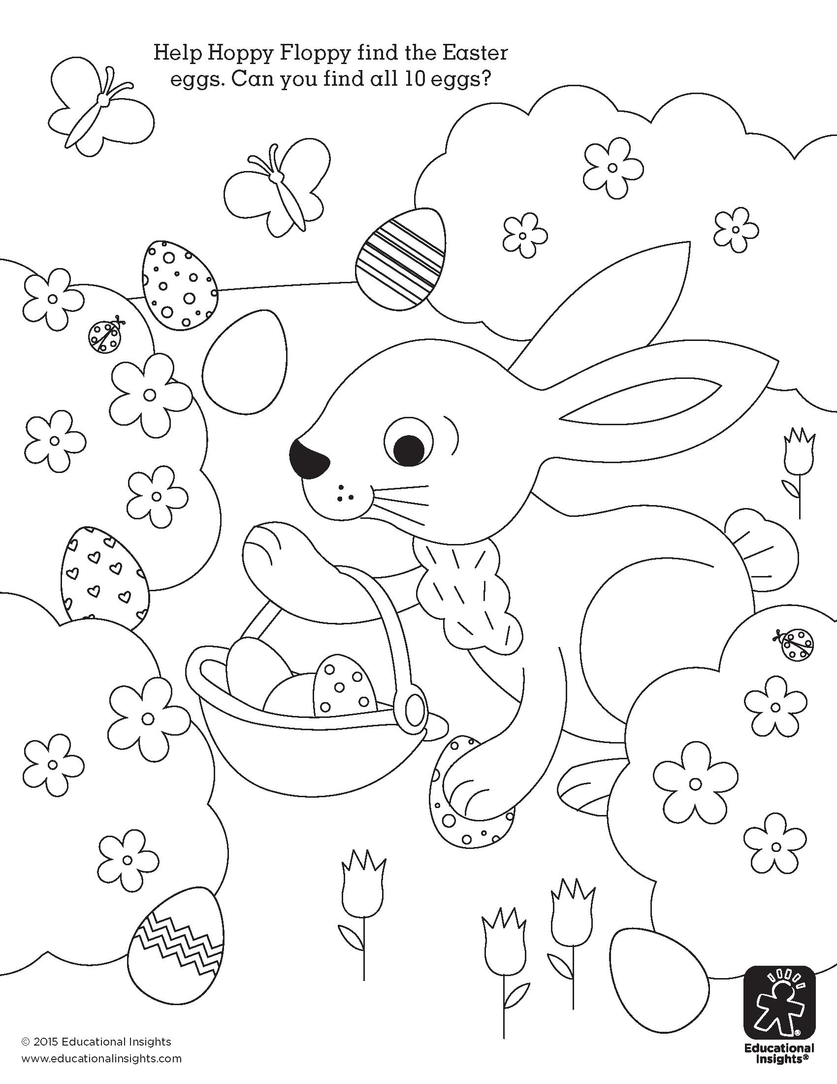 FREE Easter Coloring Printables | Pinterest | Infantiles