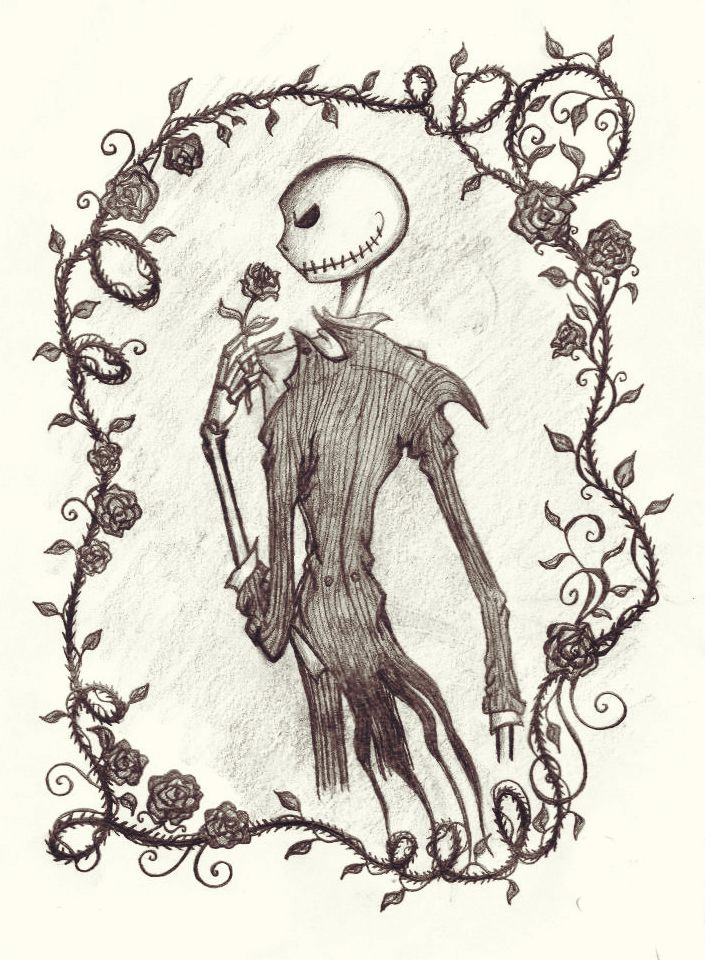Jack - The Nightmare Before Christmas   personajes de pesadilla ...